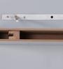 DriftingWood White MDF Multi Sized Floating Wall Shelf - Set of 3