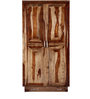 Dover Wardrobe in Provincial Teak Finish by Woodsworth