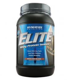 Dymatize  Elite Whey Protein Isolate (Rich Chocolate)-2.07 Lbs
