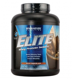 Dymatize Elite Whey Protein Isolate (Rich Chocolate ) 5 Lbs