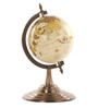 E-Studio Multicolor Wooden Antique Globe with Stand