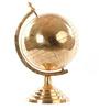 E-Studio Multicolor Brass Chrome Globe with Stand