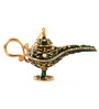 E-Studio Green Bronze Genie Lamp Wish Box