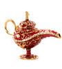 E-Studio Red Bronze Genie Lamp Wish Box