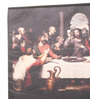 E-Studio Wooden 10 x 6.5 Inch Last Supper Frame Wall Hanging