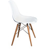 Eames DSW Replica Chair in White Colour by FuturDecor