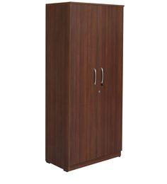 Eco Two Door Wadrobe In Walnut Finish By Woodfurn