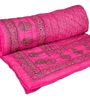 eCraftIndia Black 100% Cotton Ethnic Single Quilt - Set of 1