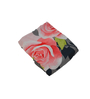 eCraftIndia Green Poly Cotton Floral Single Blanket - Set of 1