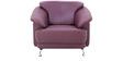 Edo (3 + 1 + 1) Seater Sofa Set in Maroon Colour by Furnitech