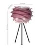 Ekko Pink Polypropylene Luz Marsala Led Table Lamp