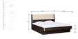 Elena Queen Bed With Box Storage by Hometown