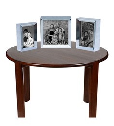 Elegant Arts And Frames Silver Photo Frame - Set Of Three - 1403989