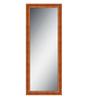 Elegant Arts & Frames Brown Wooden Decorative Full Length Dressing  Mirror