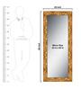 Elegant Arts & Frames Gold Wooden Decorative Synthetic Full Length Dressing  Mirror