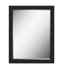 Olegario Minimalist Mirrors in Black by CasaCraft