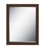 Noela Minimalist Mirrors in Brown by CasaCraft