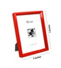 Climaco Photo Frame in Red by CasaCraft