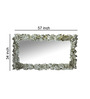 Graham Decorative Mirror in Silver by Amberville
