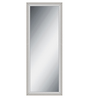 Elegant Arts & Frames Silver Wooden Decorative Synthetic Full Length Dressing  Mirror