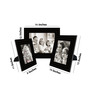 Estrella Collage Photo Frame in Black by CasaCraft