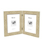 Feliciano Collage Photo Frame in Brown by CasaCraft