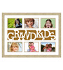 Doroteo Collage Photo Frame in Cream & Brown by CasaCraft