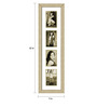Cristian Collage Photo Frame in Cream Yellow by CasaCraft