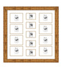 Edgardo Collage Photo Frame in Gold by CasaCraft