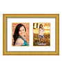 Cordoba Collage Photo Frame in Gold Yellow by CasaCraft
