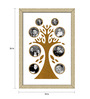 Delphina Collage Photo Frame in Gold Yellow by CasaCraft