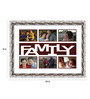 Graciela Collage Photo Frame in White by CasaCraft