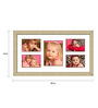 Costa Blanco Collage Photo Frame in Multicolor by CasaCraft