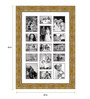 Cristobal Collage Photo Frame in Multicolor by CasaCraft
