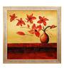 Elegant Arts and Frames Canvas & Wood 27.5 x 1 x 27.5 Inch Magnetism Framed Original Oil painting