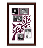 Delphina Collage Photo Frame in Red by CasaCraft