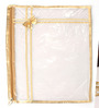 Elegant Plastic Gold Saree Bag - Set of 3