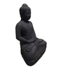 Eleganze Decor Grey Resin Meditate Buddha Showpiece