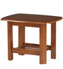 Elena Side Table in Wenge Colour by @home