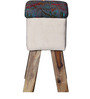 Fergie Stool in Multi-Colour Finish by Bohemiana