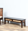 Elliston Bench in Warm Chestnut Finish by Amberville