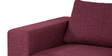 Emilio Superb LHS Sofa in Maroon Colour by Furny