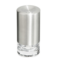 Emsa Accenta Transparent Cylindrical Salt & Pepper Shaker