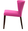 Emilio Dining Chair (Set of 2) in Magenta Pink Colour by CasaCraft