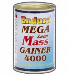 Endura Mega Lean Mass Gainer 4000-500 Grms