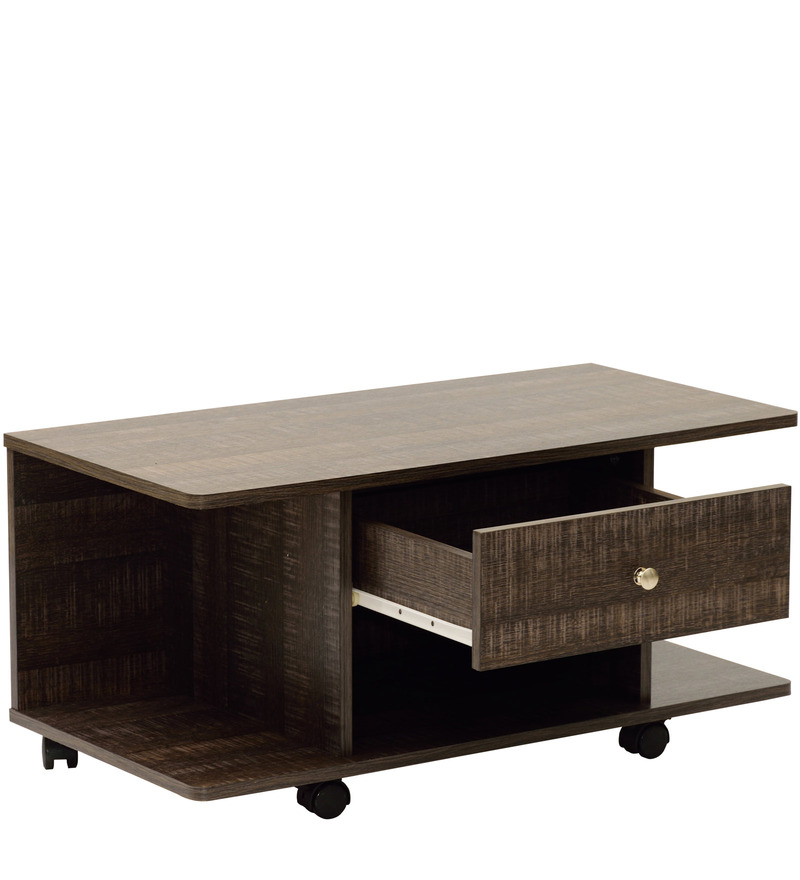 Coffee Table And Entertainment Unit Set: Buy Akira Entertainment Unit Cum Coffee Table With One
