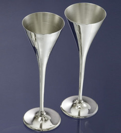 Episode Silver 92.5 Silver Plated Wine Goblet - Set Of 2