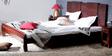 Eros King Bed in Honey Oak Finish by Woodsworth