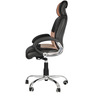 Executive  Chair in Black & Light Brown Colour by Karigar