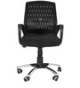 Ergonomic Chair in Black Colour by Karigar